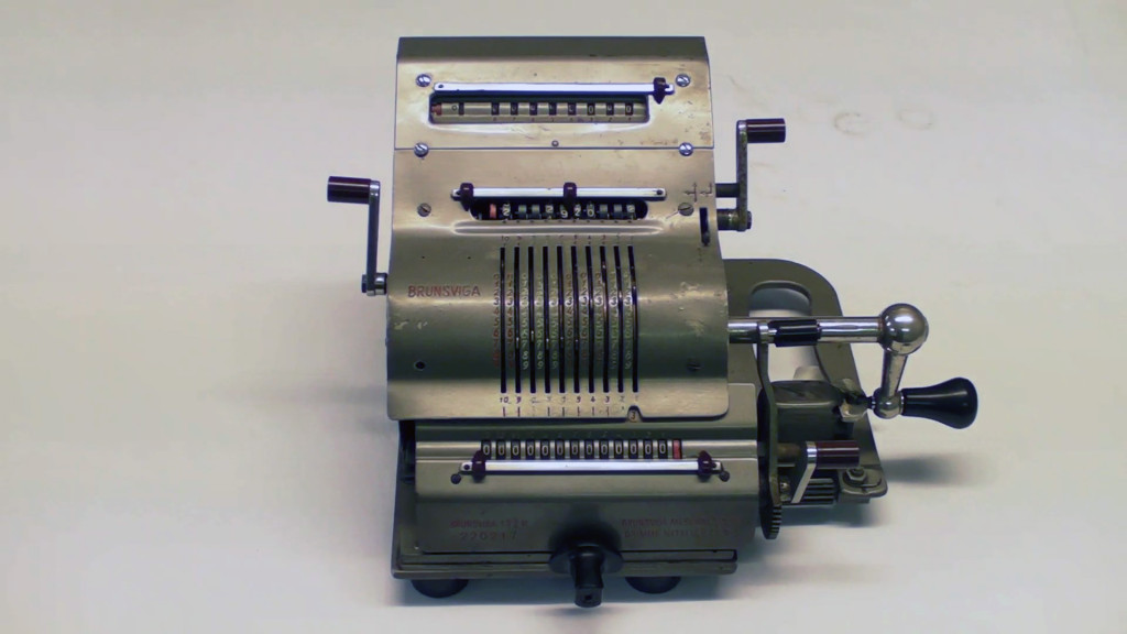 Brunsviga - Mechanical Calculator