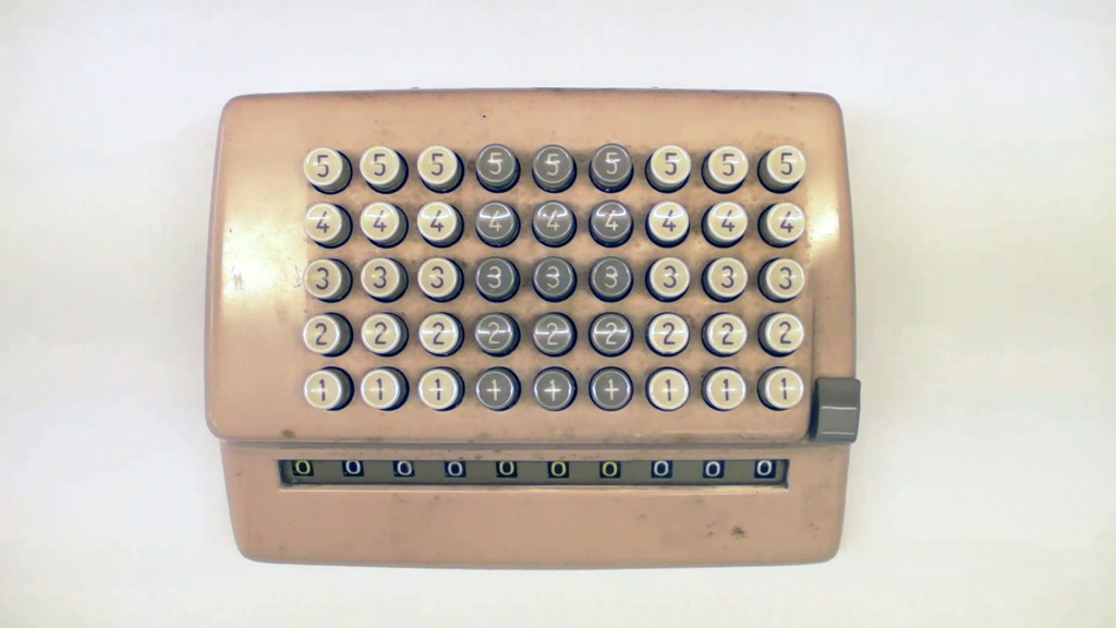 Vintage III - Mechanical Calculator