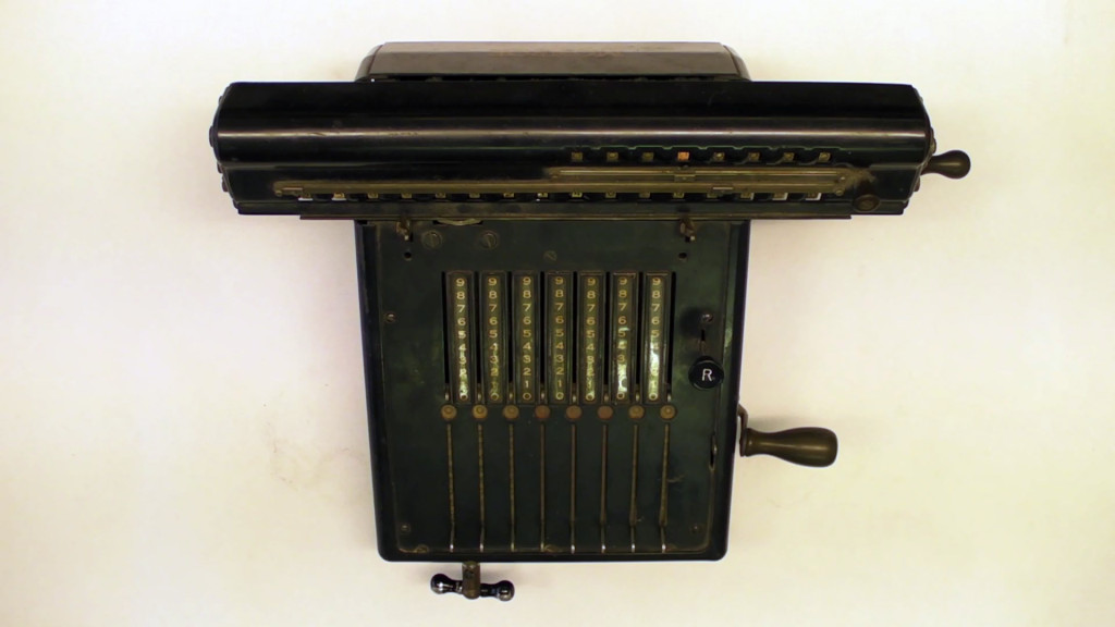Vintage II - Mechanical Calculator